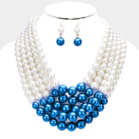 5Row Strand Pearl Necklace
