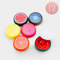 24PCS - Small Fruit Crystal Slime Mud Kids Toys
