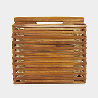 Hard Wood Bamboo Tote Bag