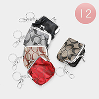 12PCS - Infinity Pattern Coin Clasp Purses