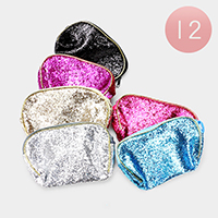 12PCS - Sequin Mini Pouch Bags