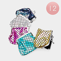 12PCS - Mermaid Tail Pattern Coin Clasp Purses