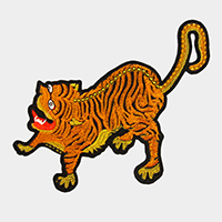 Oversized Tiger Patch