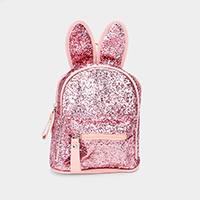 Sequin Cute Bunny Ears Kids Mini Backpack Bag
