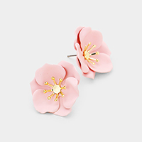 Bloom Flower Stud Earrings