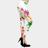 Floral Bouquet Printed Leggings