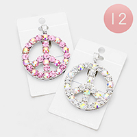 12PCS - Crystal Peace Magnetic Pendants