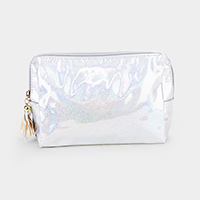 Glittered Hologram Pouch Bag