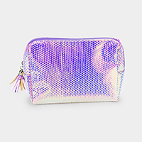 Patterned Hologram Pouch Bag