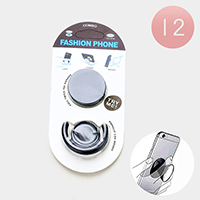12PCS - Round PopSocket PopClip Combo Packs