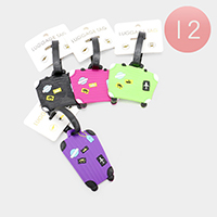 12PCS - Suitecase Luggage Tags
