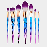 7PCS - Gradient Extremely Soft Makeup Brush Tool Set