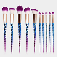 10PCS - Unicorn Extremely Soft Makeup Brush Tool Set