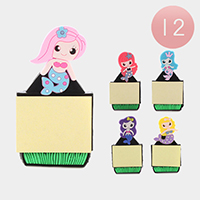 12PCS - Mermaid Memo Fridge Magnets