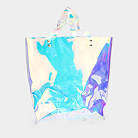 Transparent Hologram Beach Tote Bag