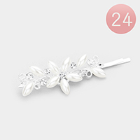 24PCS - Pearl Flower Hair Bobby Pins