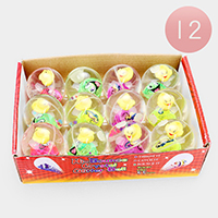 12PCS - Duck Lighting Bouncy Ball Kids Toys