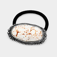Abstract Howlite Stretch Hair Band