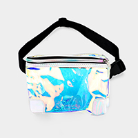 Transparent Hologram Fanny Pack