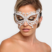 Crystal Butterfly Mask