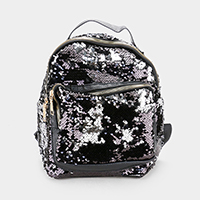 Reversible Sequin Back Pack