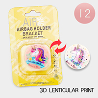 12PCS - Unicorn 3D Lenticular Popsocket Airbag Holders