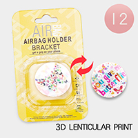 12PCS - Butterfly 3D Lenticular Popsocket  Airbag Holders