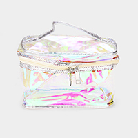 Transparent Hologram Pouch Bag