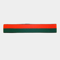 Color Block Two Tone Stretch Headband