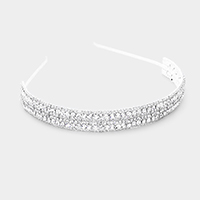 Bubble Crystal Pave Headband