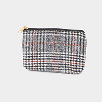 Glen Check Coin Purse