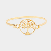 Tree of Life Metal Hook Bracelet
