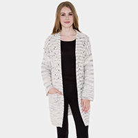 Pearl Embellished Soft Knit Cardigan