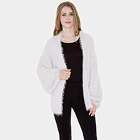 Oversized Fit Soft Cardigan