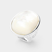Mother of Pearl Accented Ring