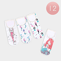 12Pairs - Mermaid Low Socks