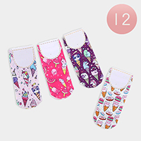 12Pairs - Ice Cream Low Socks