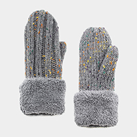 Multi Color Sprinkle Mitten Gloves