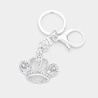 Crystal Crown Key Chain
