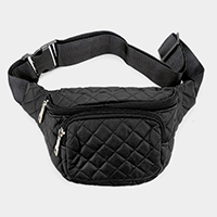 Square Stitch Fanny Pack