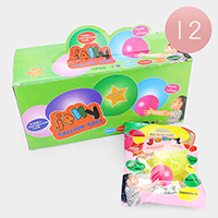 12PCS - Glow Jelly Balloon Ball Kids Toy