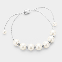 Pearl Cinch Bracelet