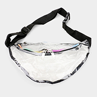 Glittered Transparent Fanny Pack