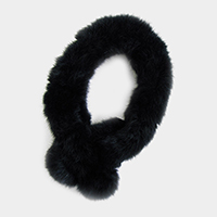 Rabbit Fur Muffler / Headband