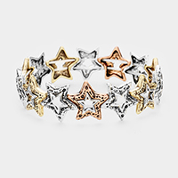 Metal Star Stretch Bracelet