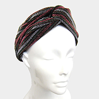 Bling Twist Turban Headband