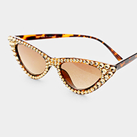 Crystal Austrian Cat Eye Sunglasses