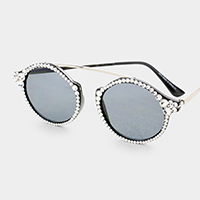 Crystal Austrian Metal Connection Sunglasses