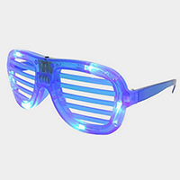 Oversized LED Lighted Glow Party Sunglasses