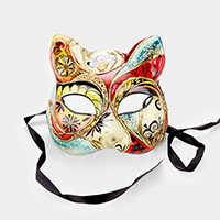 Colorful Halloween Venetian Masquerade Mask